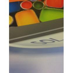Sol Pvc lino personnalisable sans lamination