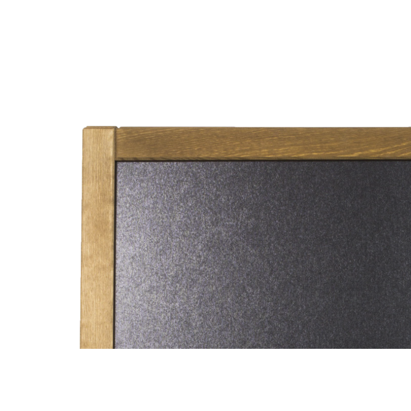 ardoise pour restaurant en chevalet en bois 2 faces. Black Bedroom Furniture Sets. Home Design Ideas