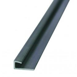 Profilé fin d'encadrement pour fixation de panneaux Dibond 3mm