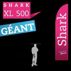 Oriflamme géant SHARK XL500
