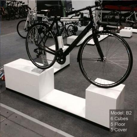 Corner pour cycle - podium pour velo