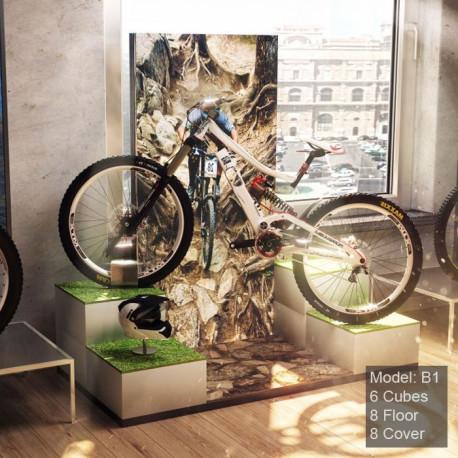 Expo pour vélo - mise en situation