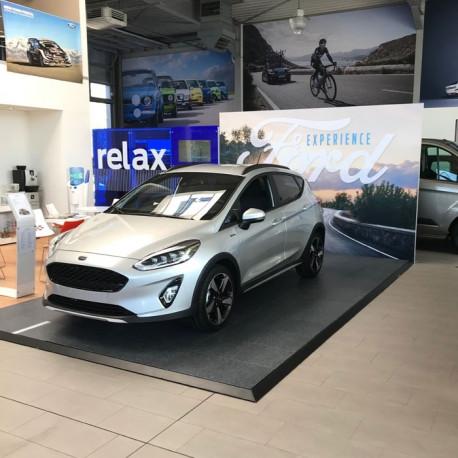 Exposition de véhicule podium pour voiture