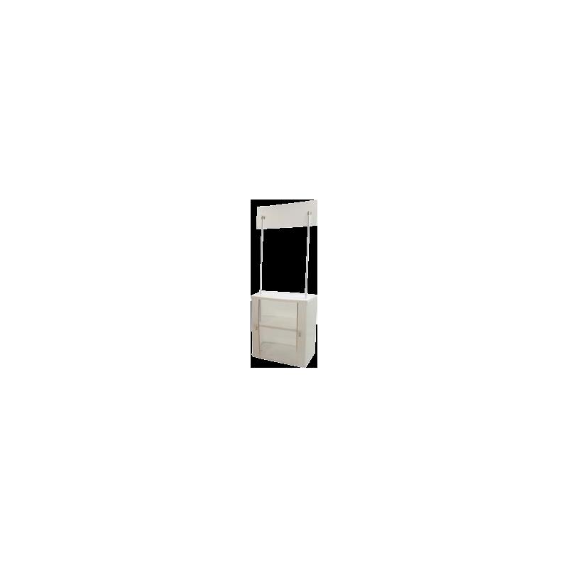 comptoir de stand portable personnalis. Black Bedroom Furniture Sets. Home Design Ideas