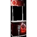 Comptoir de stand portable