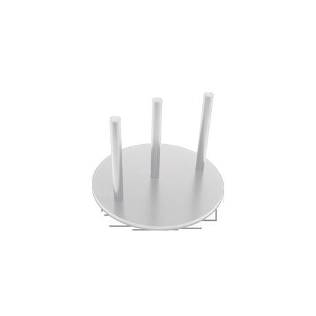 Pied rond pour panneau et plaque de type Dibond - Montijo