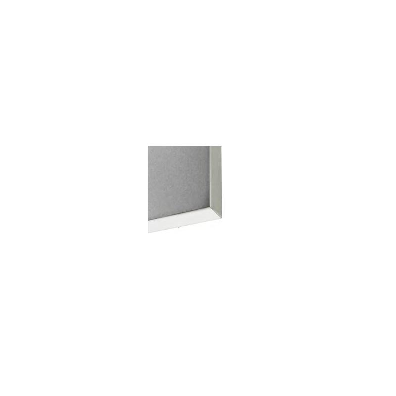 kit encadrement aluminim avec visuel en tissu imprim. Black Bedroom Furniture Sets. Home Design Ideas