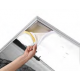 Cadre alu avec impression format 145x200cm