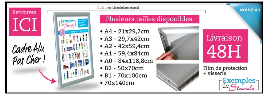 Cadre aluminium